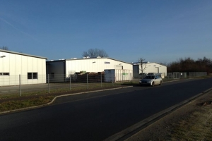 Halle im Industriegebiet Osternburg